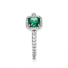 Anel PANDORA Timeless Elegance Verde - 190947GCZ