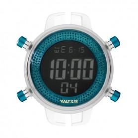 Relógio Watx and Co M Digital Sparkling Glitter Azul - RWA1042