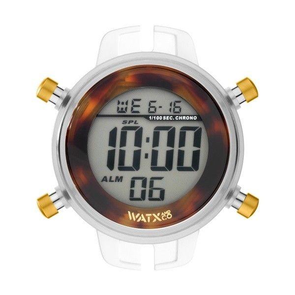 Relógio Watx and Co M Digital Turtle Castanho - RWA1062