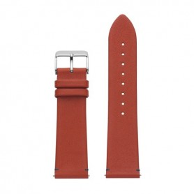 Bracelete Watx and Co 44mm Leather Terrestre Vermelho - WXCO1712