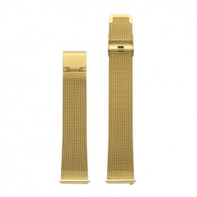 Bracelete Watx & Colors 38mm Mesh Basic Dourado - WXCO2001