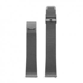 Bracelete Watx & Colors 38mm Mesh Basic Cinza - WXCO2003