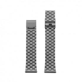 Bracelete Watx and Co 38mm Basic Cinza - WXCO3003