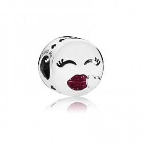 Conta PANDORA Emoji Kiss - 796561EN152