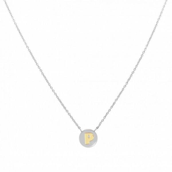 Fio Nomination Letra P Dourada - 065010/016