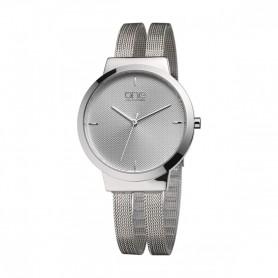 Relógio One Dual Prateado - OL7617SS72L
