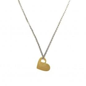 Colar Dia Dos Namorados Coração Dourado - P0899306D