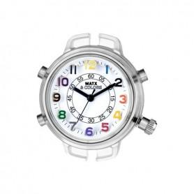 Relógio Watx & Colors S Analógico Rainbow Branco - RWA1552R