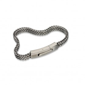 Pulseira Anjewels Forever Young Steel Gun - AA.P201