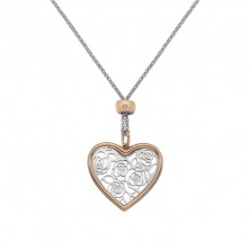 Colar Hot Diamonds Faith Large Heart - DP655