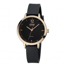 Relógio One Colors Nuance Preto - OM1845PP81T