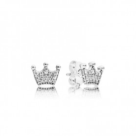 Brincos PANDORA Enchanted Crowns - 297127CZ