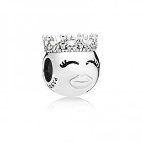 Conta Pandora Princesa Emoji - 797143CZ