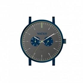 Relógio Watx & Colors 44mm Analógico Psicotropical Cinzento - WXCA2726