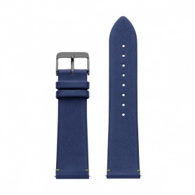 Bracelete Watx and Co 44mm Leather Psicotropical Azul - WXCO1726