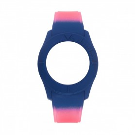 Bracelete Watx & Colors S Smart Psicotropical Rosa e Azul - COWA3597
