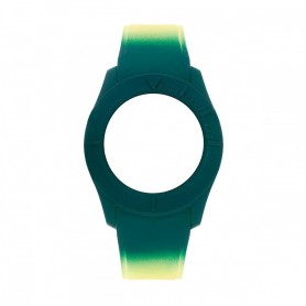 Bracelete Watx & Colors M Smart Psicotropical Verde e Amarelo - COWA3096