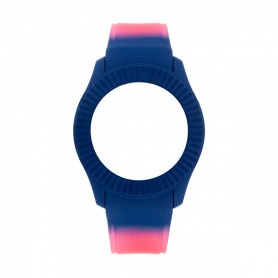 Bracelete Watx & Colors M Smart Psicotropical Rosa e Azul - COWA3097