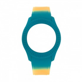 Bracelete Watx & Colors M Smart Psicotropical Laranja e Azul - COWA3098