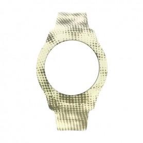 Bracelete Watx & Colors L Smart Pixel Amarelo e Cinza - COWA3758