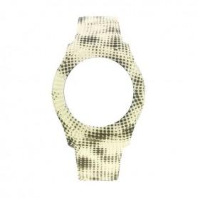 Bracelete Watx & Colors M Pixel Amarelo e Cinza - COWA3058