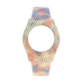 Bracelete Watx and Co S Smart Pixel Amarelo, Azul e Coral - COWA3559