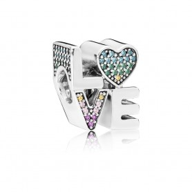 Conta PANDORA Love Multicolor - 797189NRPMX