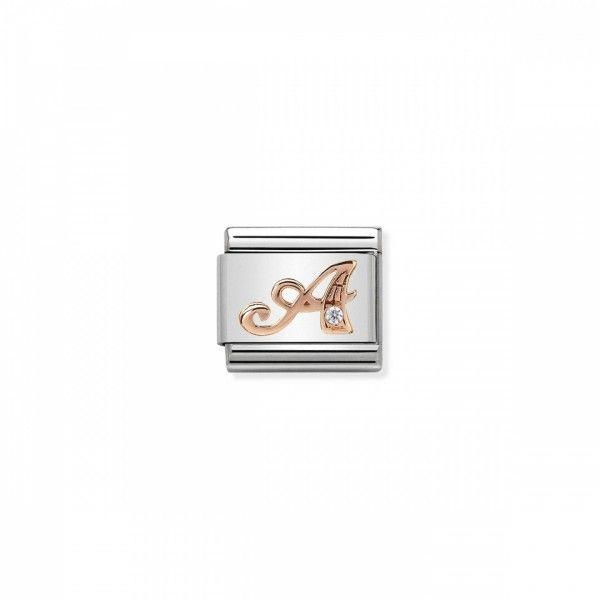 Link Nomination Composable Classic Letra A Manuscrito - 430310/01
