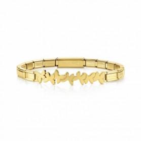 Pulseira Nomination Trendsetter Borboletas Dourada - 021111/003