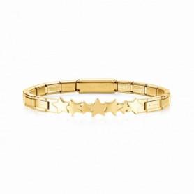Pulseira Nomination Trendsetter Estrelas Dourada - 021111/005