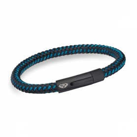 Pulseira Anjewels Forever Young Rider Azul - AA.P212BB