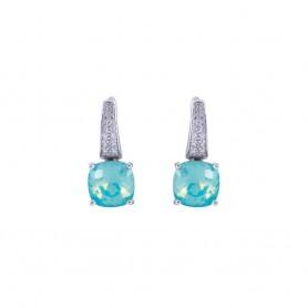 Brincos Marmara Fancy Stone Cristal Swarovski - MAR-KR726PAO