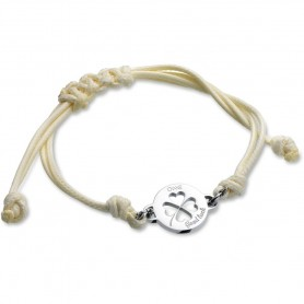 Pulseira One Jewels Energy Good Luck Branca - OJEBCC32WH