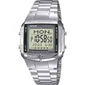 Relógio Casio Collection Digital Prateado - DB-360N-1AEF