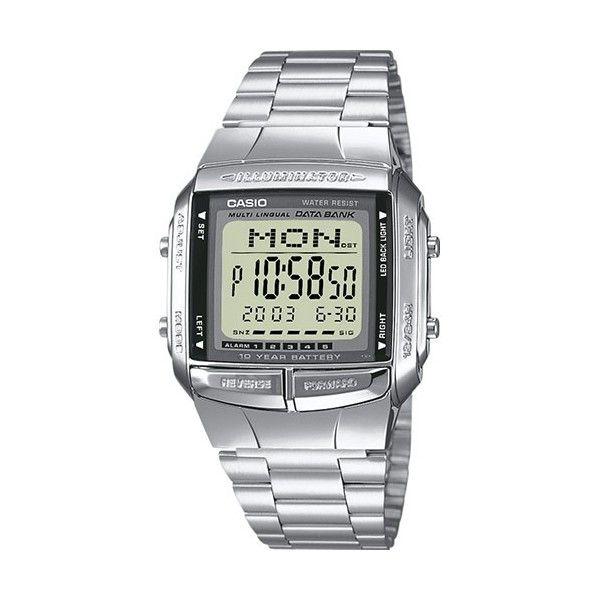 Relógio Casio Collection Digital Prateado - DB-360N-1AEF