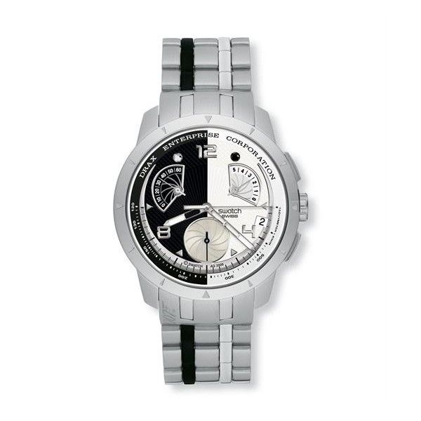 Relógio Swatch Irony Retrogade Hugo Drax Moondraker - YRS410G