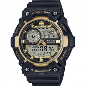 Relógio Casio Collection Anadigito - AEQ-200W-9AVEF