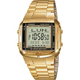 Relógio Casio Collection Digital Dourado - DB-360GN-9AEF