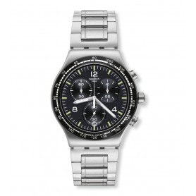 Relógio Swatch Irony Chrono Night Flight - YVS444G