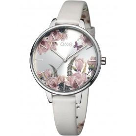 Relógio One Winter Blossom Branco - OL0454FB82W