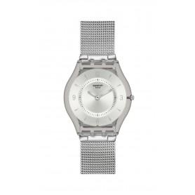 Relógio Swatch Irony Skin Classic Metal Knit - SFM118M
