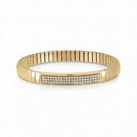 Pulseira Nomination Extension Glitter Dourada - 043212/010