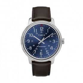 Relógio Timex Originals Azul e Castanho - TW2R85400