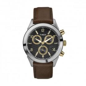 Relógio Timex Torrington Chrono Preto e Castanho - TW2R90800