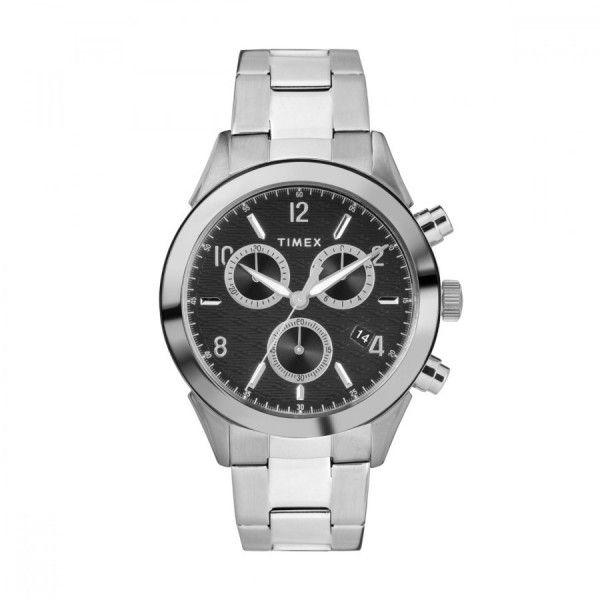 Relógio Timex Torrington Chrono Prateado - TW2R91000