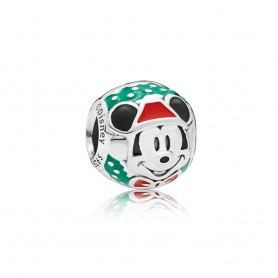 Conta PANDORA Disney Santa Mickey - 797502ENMX