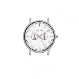Relógio Watx and Co 44mm Analógico Basic Prateado - WXCA2700