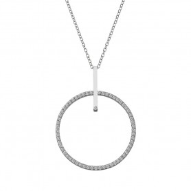 Colar Hot Diamonds Constant Circle - DP717
