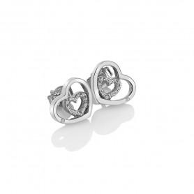 Brincos Hot Diamonds Adorable Encased - DE548