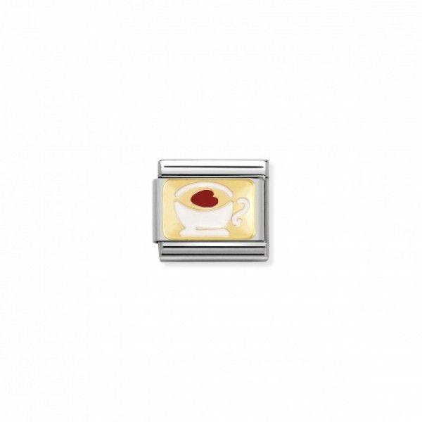 Link Nomination Composable Classic Chávena com Coração - 030284/02